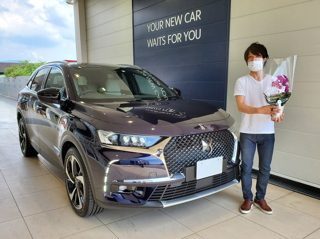 DS 7 CROSSBACK ご納車